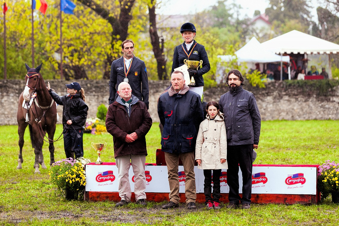 Podium CCI3* Karpatia Horse Trials 2015