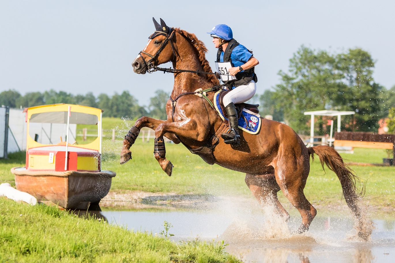 Hamilton, 32nd place CIC2* Renswoude 2016 ©eventingphoto.com