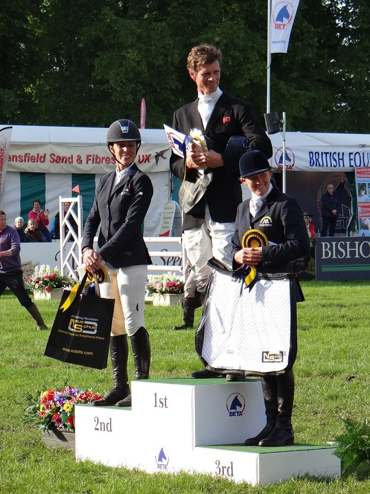 Prize giving CIC3*, Bramham International Horse Trials 2014