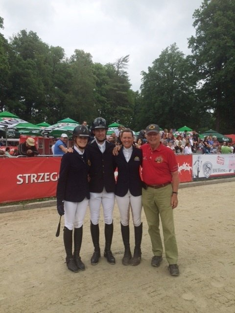 Team Belgium, 3rd place FEI Nations Cup Strzegom Horse Trials 2016