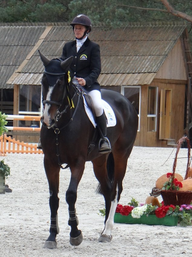 Eventing Bialy Bor 2013, Eloubet