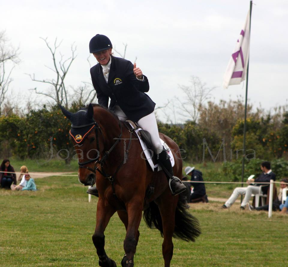 Lady Brown, Barroca d'Alva 2015, 1st place CIC1*